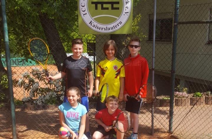Erfolgreiches Wochenende für TCC Jugend