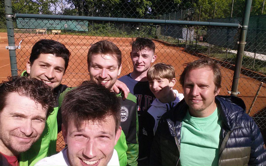 TCC Herren-Mannschaften auf Kurs